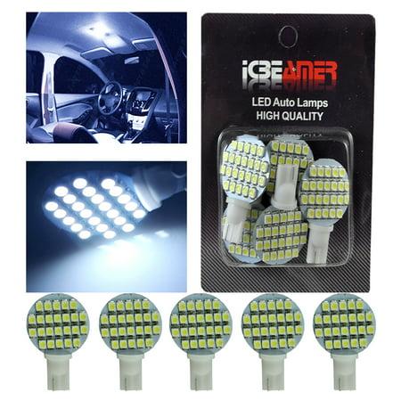 x5 t10 921 194 168 rv trailer interior 12v white led light bulbs 24 smd. Black Bedroom Furniture Sets. Home Design Ideas