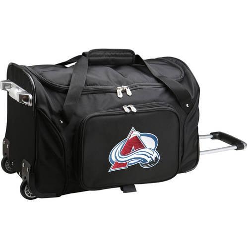 "Denco NHL 22"" Rolling Duffel, Colorado Avalanche by Mojo Licensing"