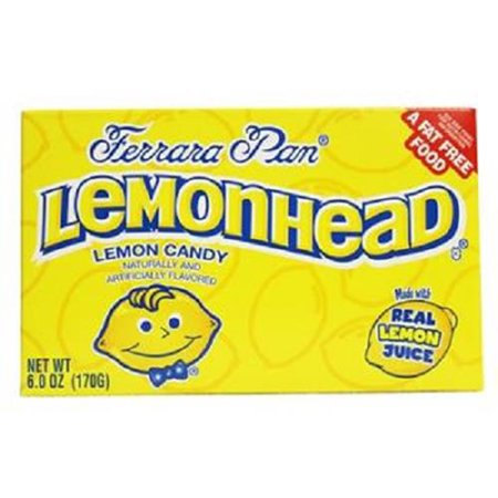 Product Of Ferrara Pan, Lemonhead Lemon Candy Theater Box , Count 1 (5 oz) - Sugar Candy / Grab Varieties & Flavors](Ferrara Pan Candy)