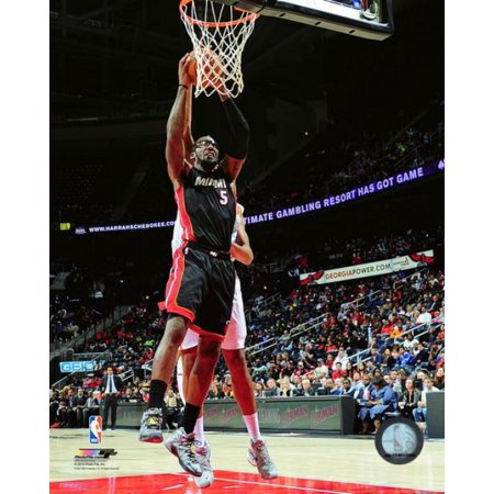 Amare Wall - Amare Stoudemire 2015-16 Action Photo Print