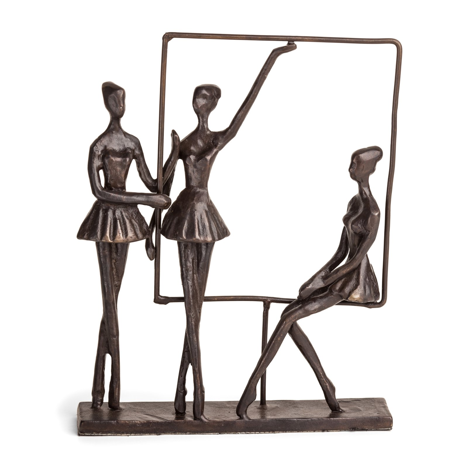 Danya B Ballerinas on Frame Sculpture