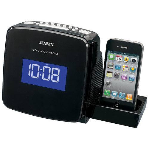 Jensen Docking Clock Radio with CD