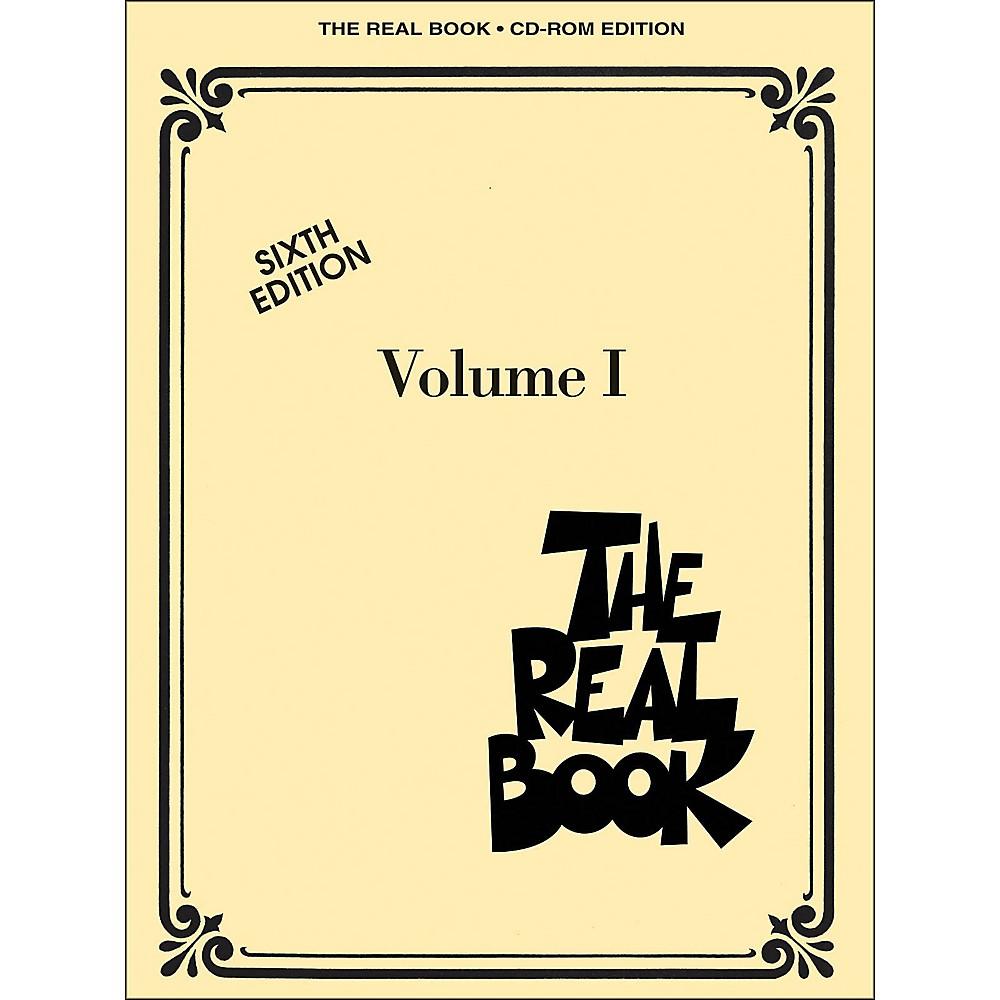 Hal Leonard The Real Book Volume I, Sixth Edition - C Instruments CD-ROM