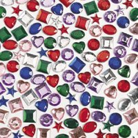 Adhesive Back Jewels (500Pc) - Craft Supplies - 500 Pieces