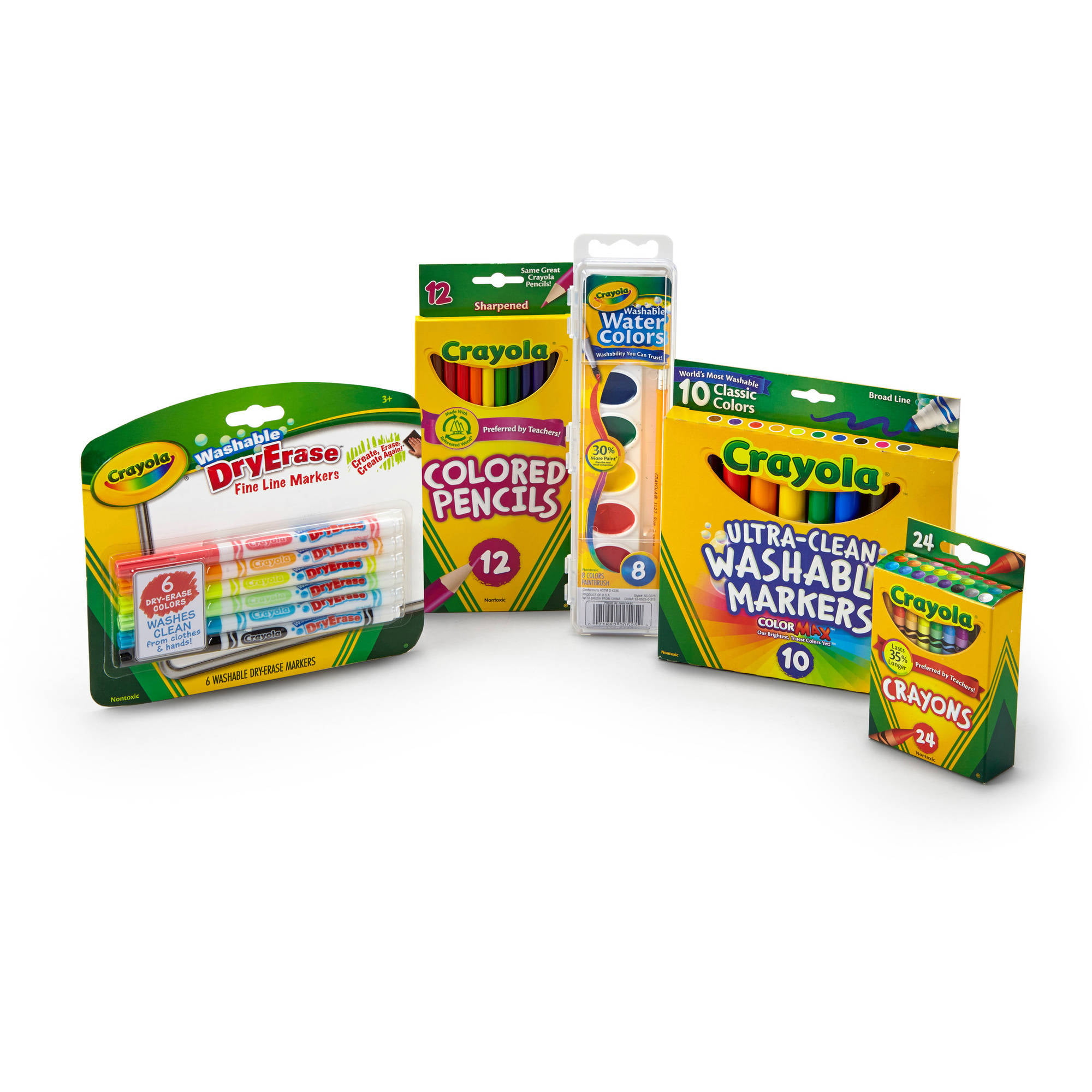 Crayola Back to School Starter Pack, Classroom Essentials by