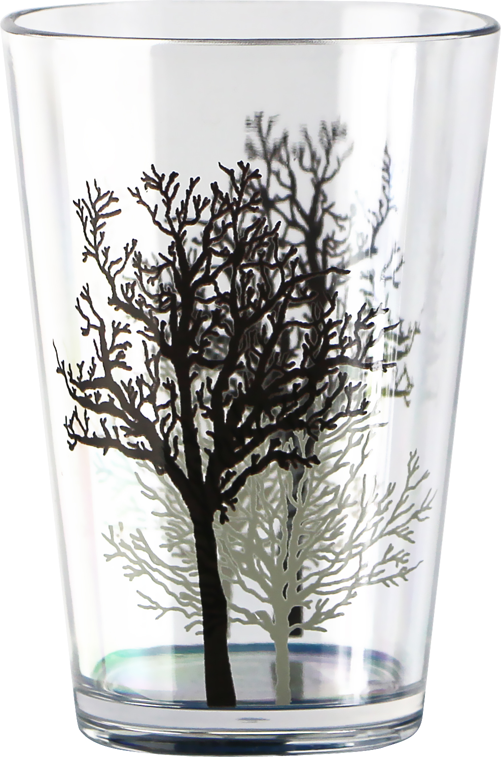 8-Ounce Corelle Coordinates by Reston Lloyd Timber Shadows Acrylic Juice Glasses Set of 6