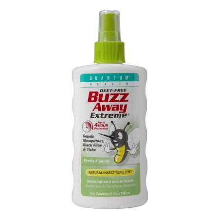 - Quantum Health Buzz Away Extreme Spray, 8 Oz