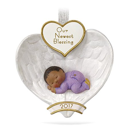 Hallmark Baby's First Angel Wings Keepsake Christmas Ornament ()