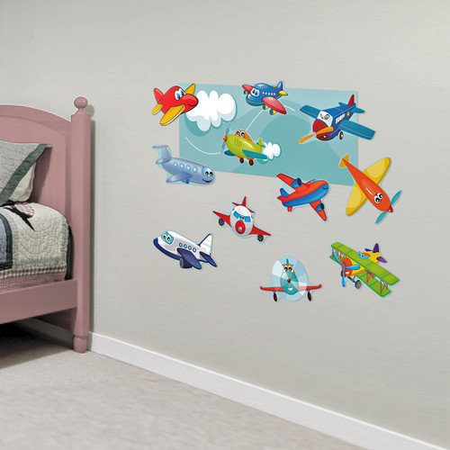 Mona Melisa Designs Airplanes Accessory Wall Decal