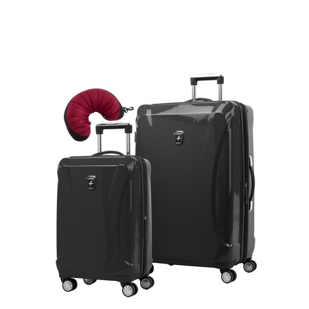 Atlantic Ultra Lite 4 Hardside 21 and 28-Inch Expandable Spinners, Travel (Atlantic Spinner)