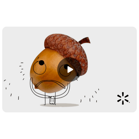 Acorn Apology Walmart eGift Card