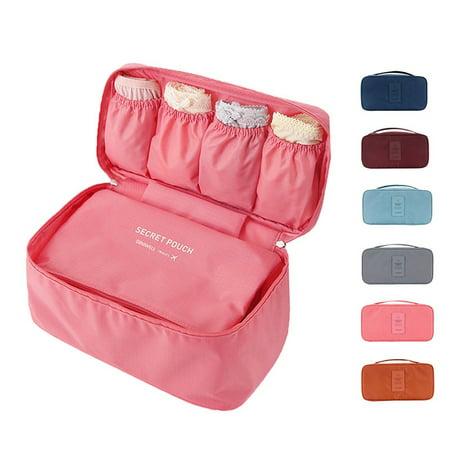 Fymall Multi-Functional Waterproof Bra Underwear Socks Storage Bag