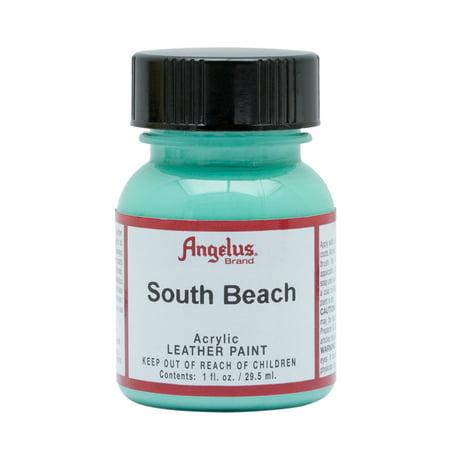Bleach Leather - Angelus® Acrylic Leather Paint, 1 oz., South Beach