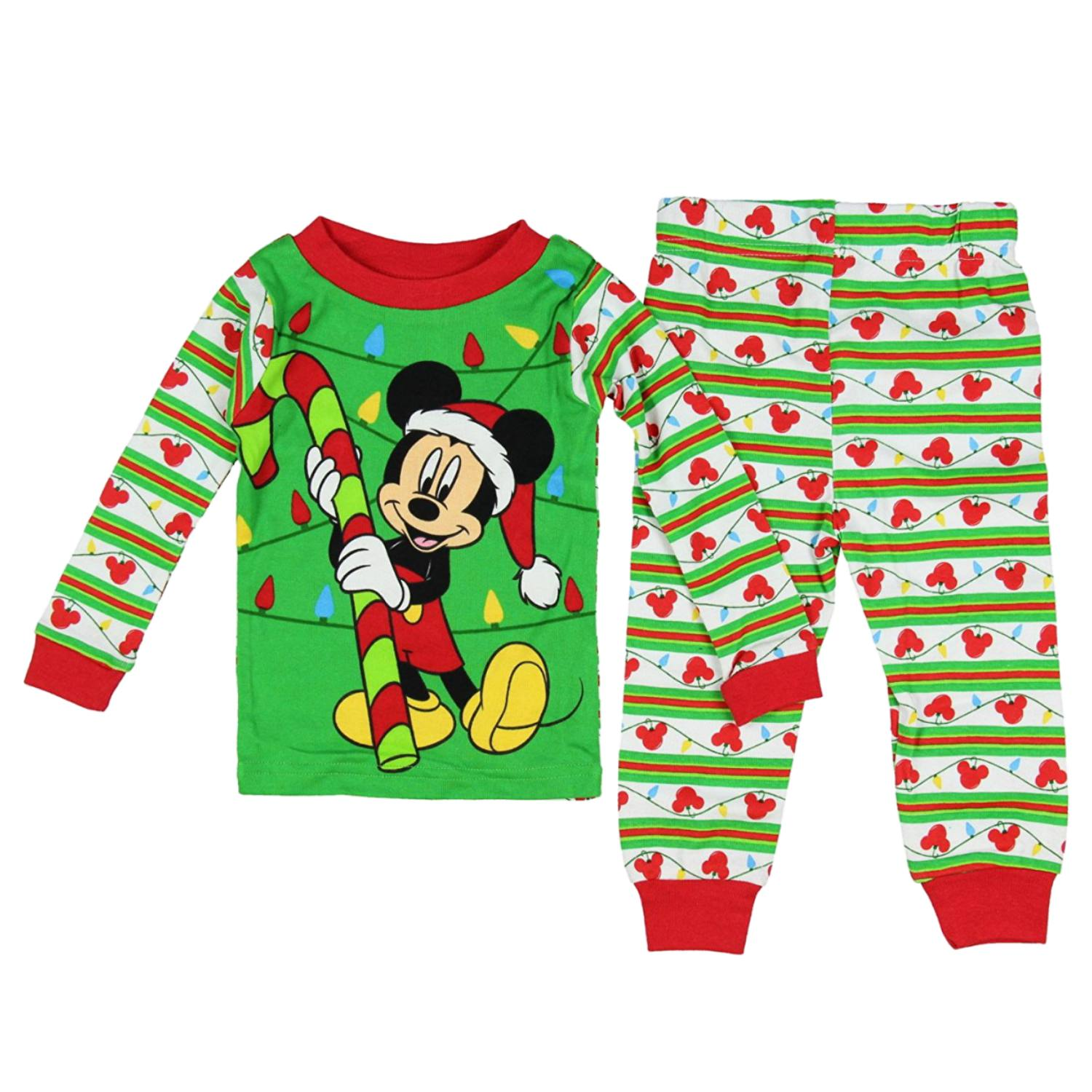 Each 4-piece set of Mickey Mouse pajamas also includes two short sleeve shirts. Designed for babies from months, the garments are made of % cotton for optimal comfort and easy care. Product - Toddler Boy Button Down Pajama Set.