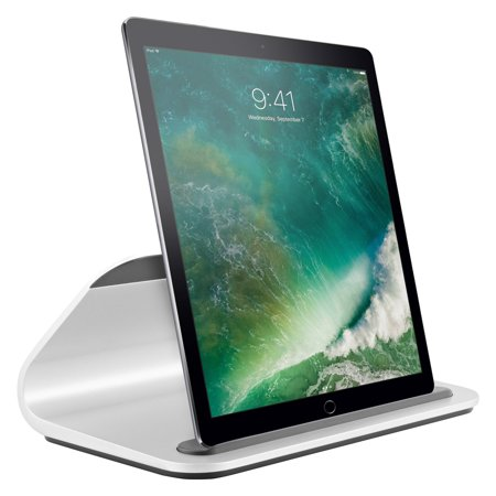 77b37537990 Logitech BASE Charging Stand with Smart Connector for iPad Pro (Silver)  (Certified Refurbished) - Walmart.com