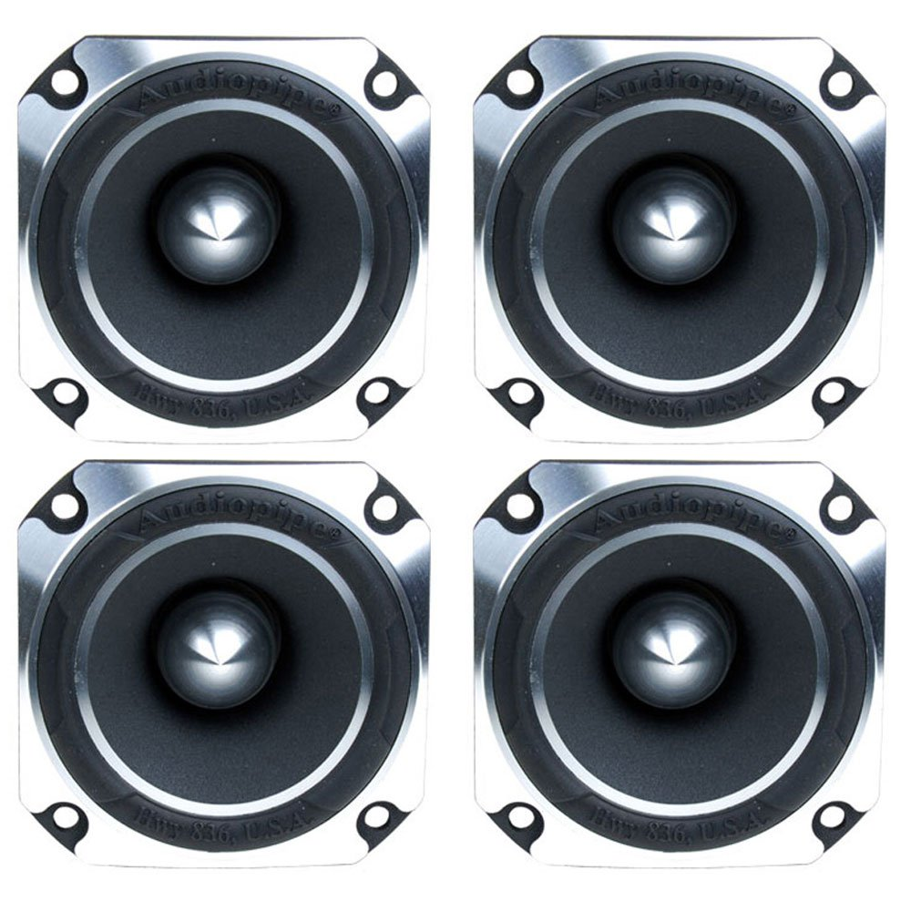 "4) Audiopipe ATR-4061 2"" 2400W Titanium Super Pro Car Audio Heavy Duty Tweeters"