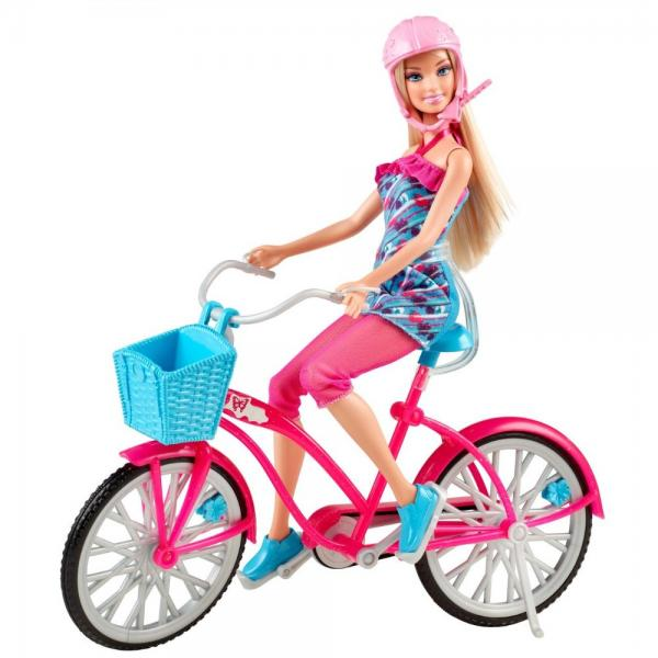 Barbie Fab Life Doll and Bike by Mattel by