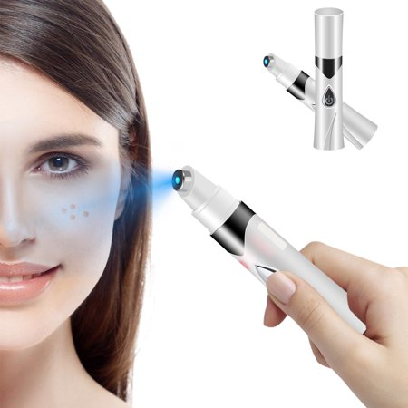 Portable Acne Removal Pen Blue Light Anti-varicose Veins Face, Scars  Blemishes Freckle Pimples Removal Therapy Machine