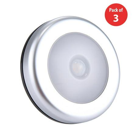 Motion Sensor Closet Light 3 X Sensing Battery Ed Led Stick Anywhere Nightlight Wall For Entrance Hallway Bat Garage Bathroom
