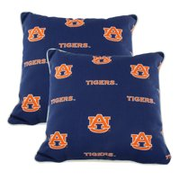 Alabama Crimson Tide College Covers Indoor or Outdoor Decorative Pillow Pair, 16 in x 16 in