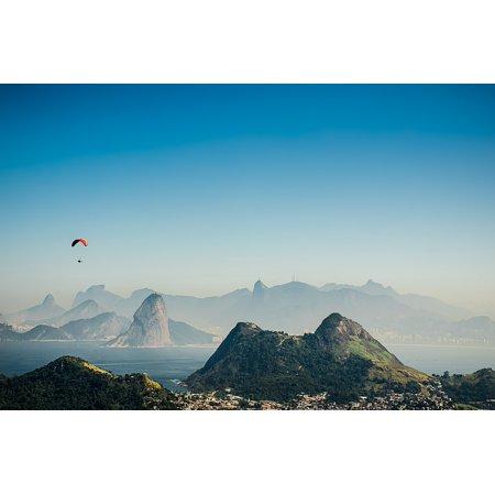 LAMINATED POSTER Brazil Rio De Janeiro Olympics 2016 Niteri Poster Print 24 x 36