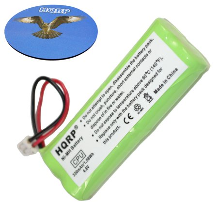 HQRP Battery for Dt-Systems H20 1800 Series H2O 1810 1812 1813 1820 1822 1823 1830 1832 1833 1850 1852 1853 Remote Controlled Dog Training Collar Receiver + Coaster