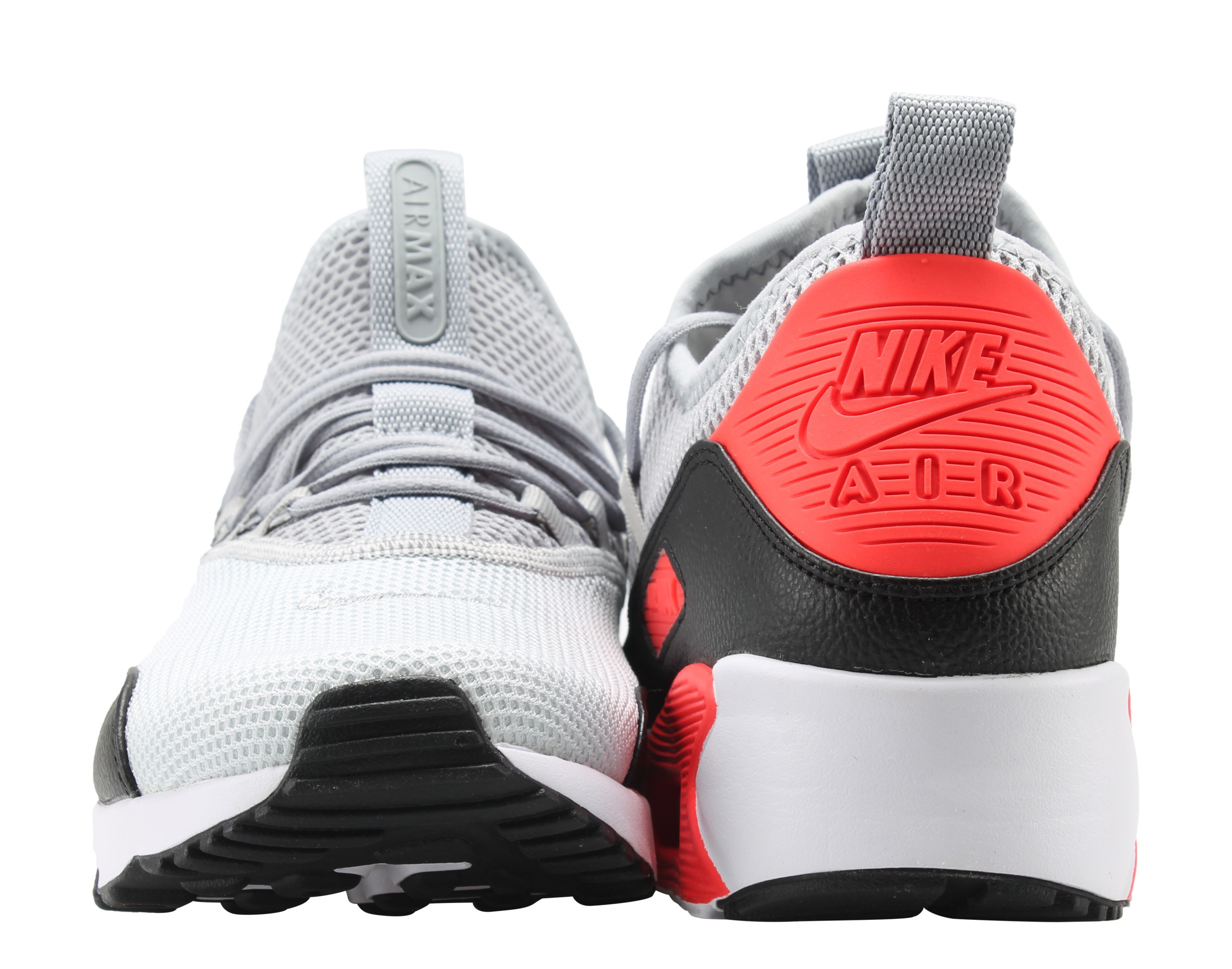 sports shoes 42b6f cdc58 Nike - Nike Air Max 90 EZ Grey Infrared-Black Men s Running Shoes AO1745-002  - Walmart.com