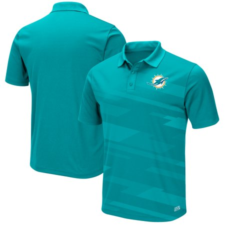 - Men's Majestic Aqua Miami Dolphins Big Hit TX3 Polo