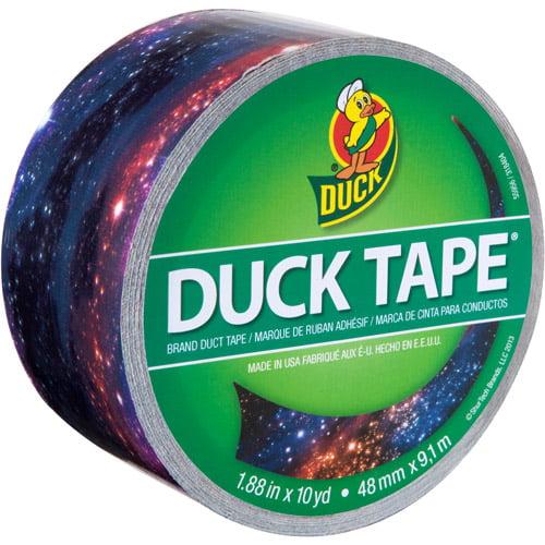 "Duck Brand Duct Tape, 1.88"" x 10 yds, Galaxy"