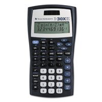 Texas Instruments TI-30X IIS Scientific Calculator, 10-Digit LCD