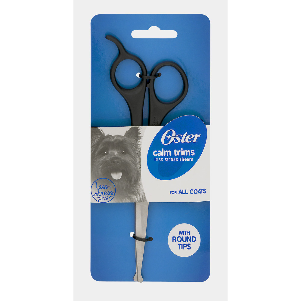 Oster Calm Trims Less Stress Shears with Round Tips
