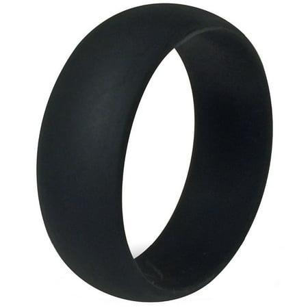 Tungsten Jeweler Fsr Flexible Silicon Rings 8mm Men Or