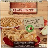 Claim Jumper Lattice Apple Pie Frozen Dessert 42 Oz