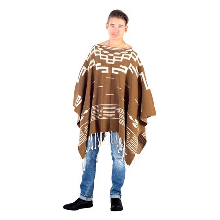Spaghetti Cowboy Western Costume Poncho - Back To The Future Cowboy Costume
