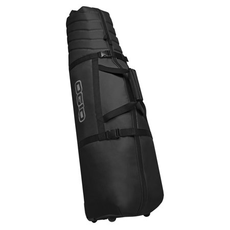 Golf Travel Cover Bag Case (OGIO Savage Padded Zippered Golf Bag Travel Cover Bag w/ Wheels, Black | 127013 )