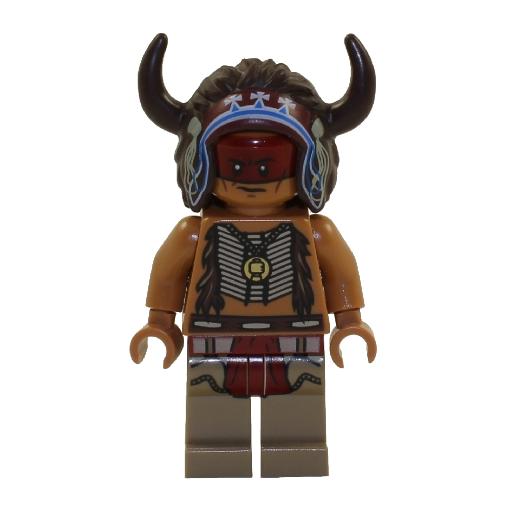 LEGO Minifigure - The Lone Ranger - RED KNEE
