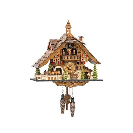 battery operated cuckoo clock instructions