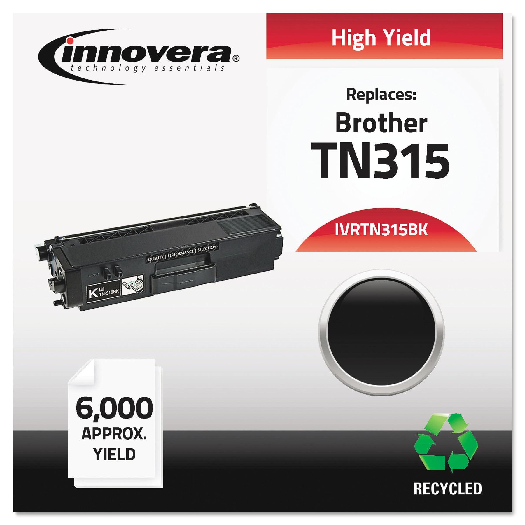 Innovera Remanufactured TN315BK High-Yield Toner, Black