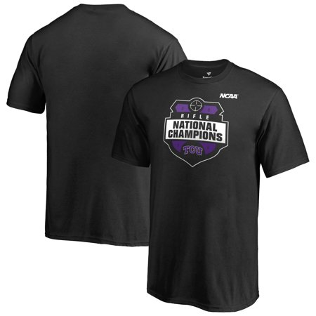 TCU Horned Frogs Fanatics Branded Youth 2019 NCAA Rifle National Champions T-Shirt -