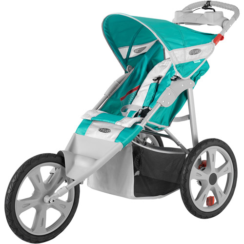 InStep Flash Single Jogger Stroller, Grass/Gray