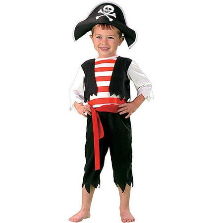 Pint Size Pirate Toddler Halloween Costume - Walmart.com