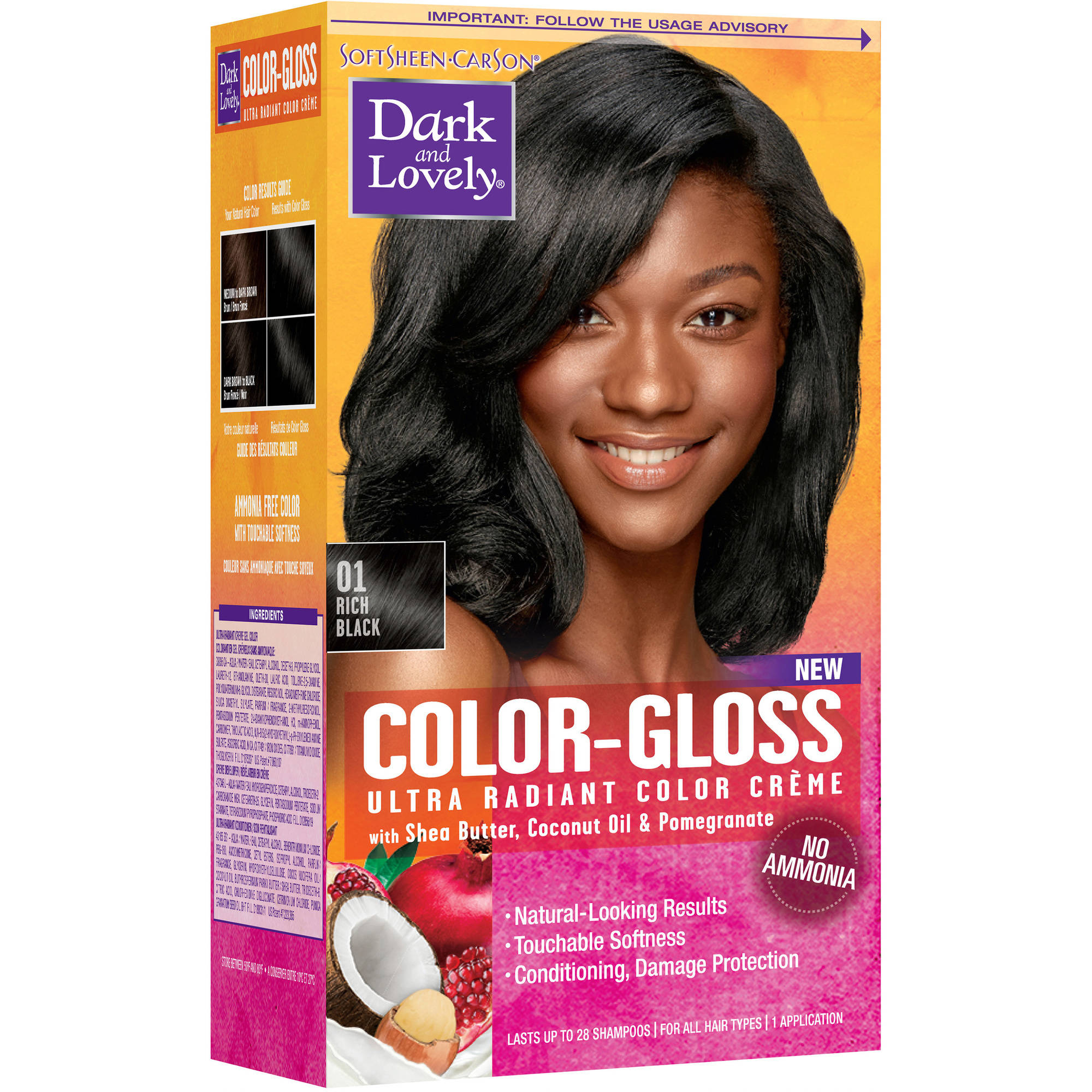 Softsheen Carson Dark And Lovely Color Gloss Ultra Radiant Color