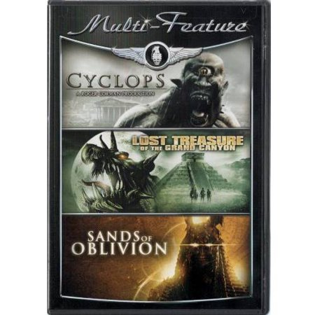 Multi-Feature: Cyclops / Lost Treasure Of The Grand Canyon / Sands Of Oblivion - Halloween Sang