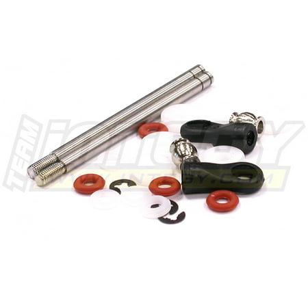 Integy RC Toy Model Hop-ups C23263 Shock Rebuild Kit w/ Shock Shaft (2) for MSR11 Type 108mm