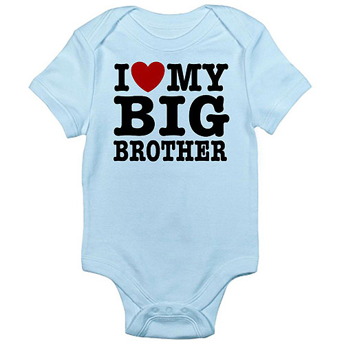 CafePress Newborn Baby Boy Brother Love Bodysuit
