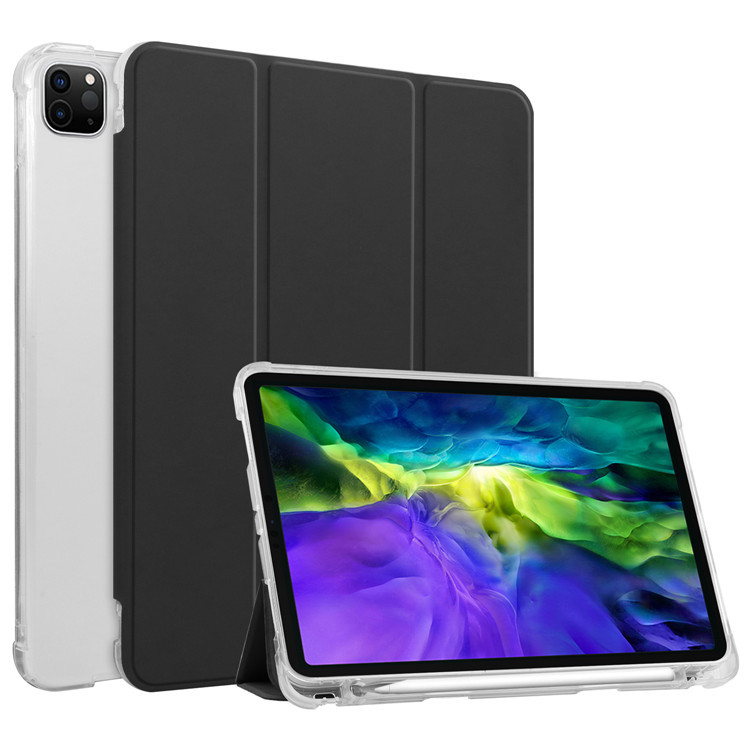 iPad Pro 12.9 inch Case 2020 2018 with Apple Pencil Holder ...