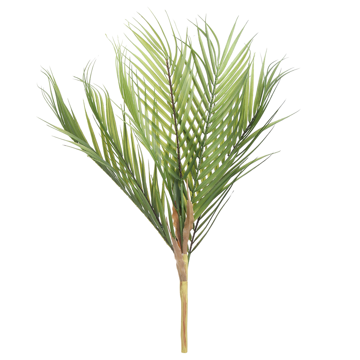 Palm Tree Artificial Leaves Branches Vivid Wild Foliage Plant For Home Wedding Living Room Diy Decoration Jungle Party Walmart Com Walmart Com