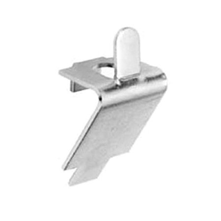 - Pilaster, Clip, Square Slotted Shelf Support, Zinc Plated Steel By FMP