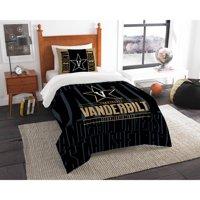 "NCAA Vanderbilt Commodores ""Modern Take"" Bedding Comforter Set"