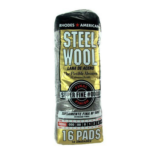# 0000 Sleeve Super Fine Steel Wool Pads